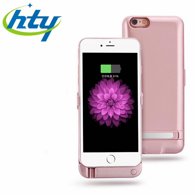 External Portable 5000mAh Battery Backup Case For iPhone 6 6 s Mobile Charger Power Battery Power Bank Case Phone Accessories