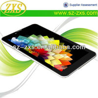 Zhixingsheng 7 inch android oem tablet manufacturers MTK6577+WIFI+3G+dual core+dual sim+1024*600