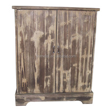 China Manufacture Antique Solid Wood Living Room Cabinet Furniture Design
