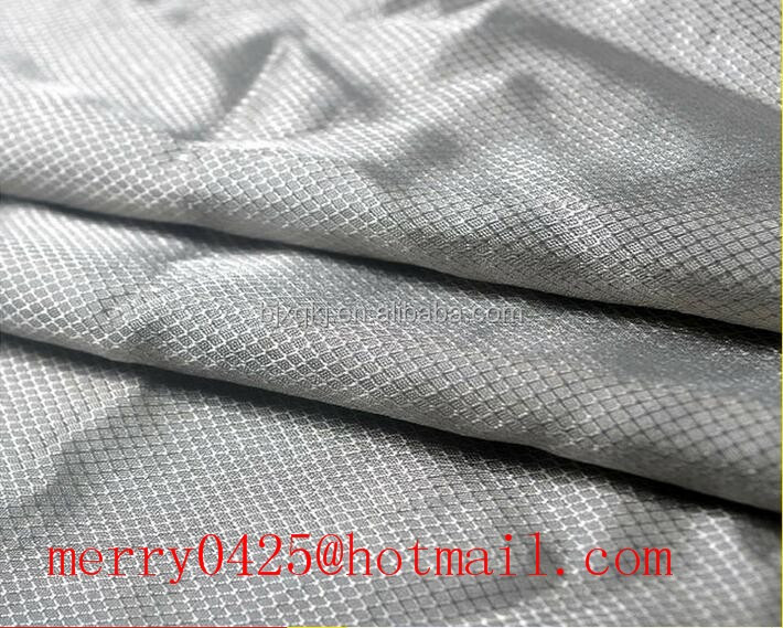 Silver fiber fabric used for radiation protection suits
