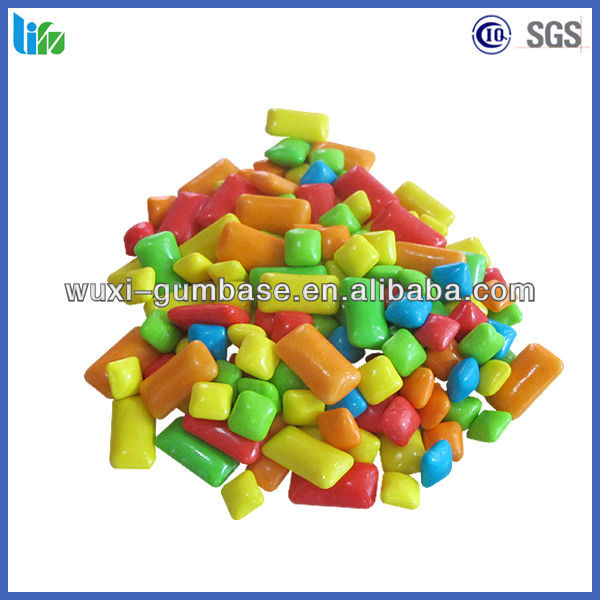 Hot selling xylitol christmas chewing gum soft candy in bulk
