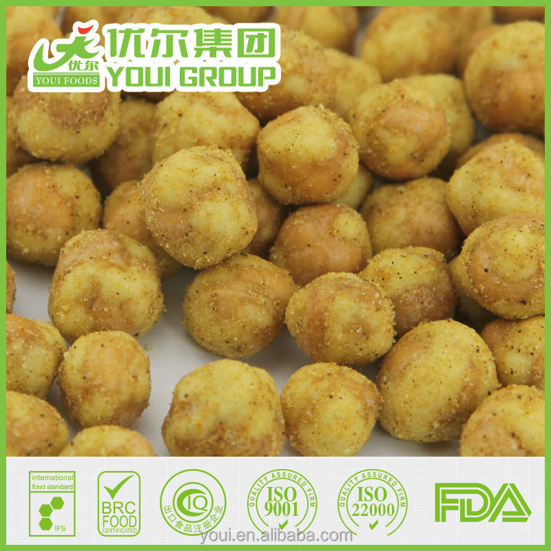 curry coated chickpeas on sale, fried chickpeas, chickpeas, pea snacks