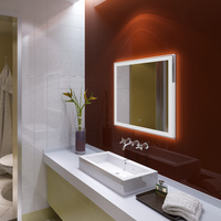 Wholesale hotel electric silhouette lighted mirror
