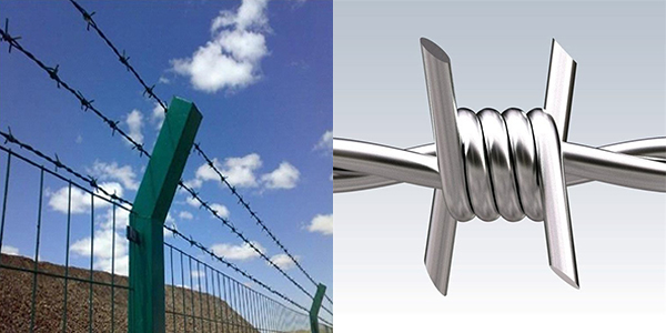 2 barbed wire