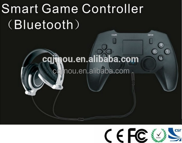 Bluetooth 3.0 EDR Video Game Controller with Keyboard Smart Wireless Remote Control