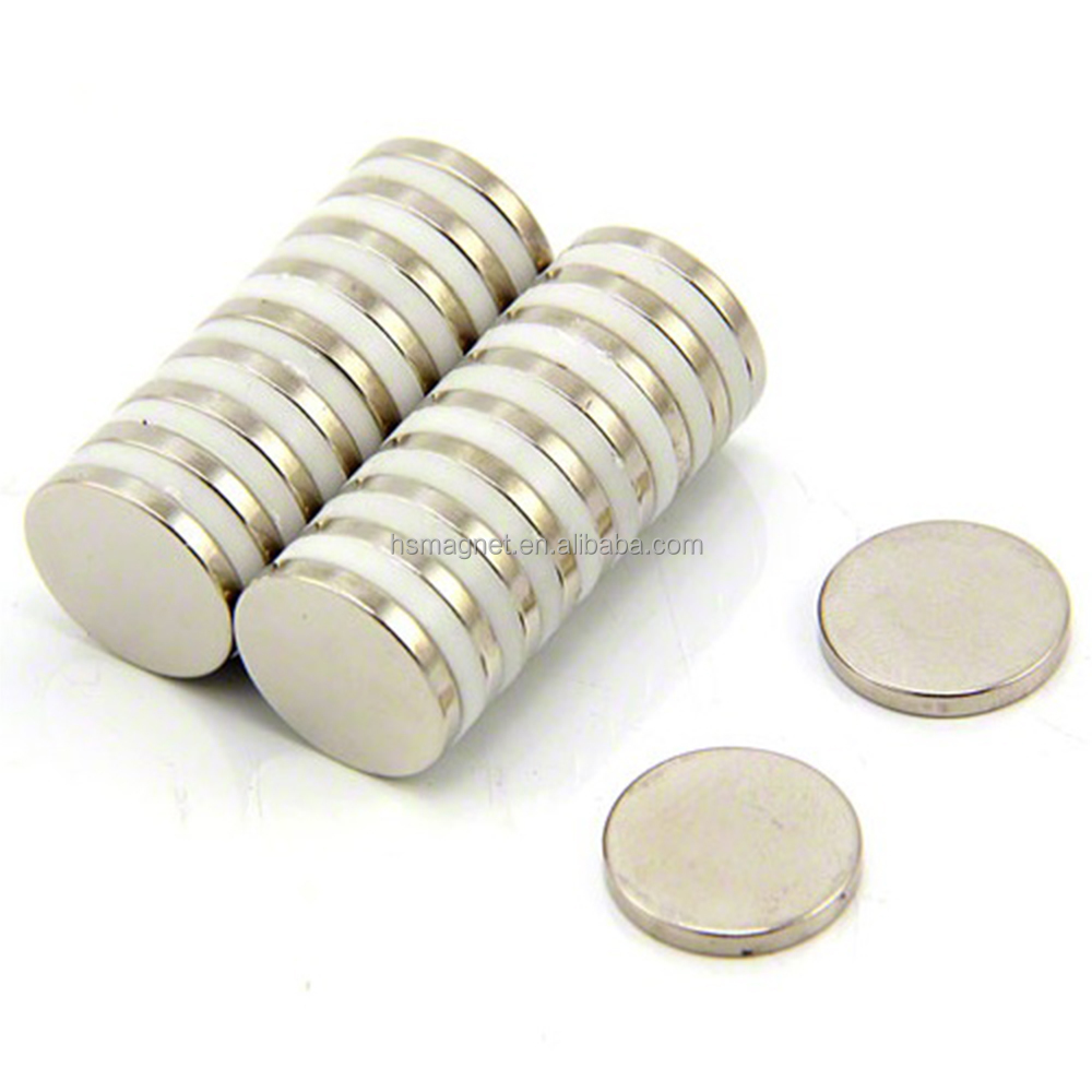 Neodymium Super Magnets Round Disc, Ndfeb Rare Earth Bulk of Permanent Magnets