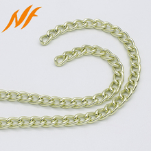 metal chain factory decorative metal key chain colored aluminum chain links