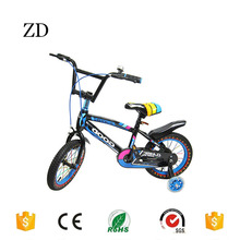 Hebei Zandi factory high quality kids dirt bicycle four wheels 12 14 16 18 20 blue red green children dirt bikes for sale