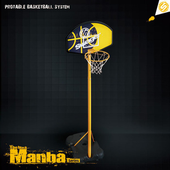 Swager The Black Manba Basketball Hoop