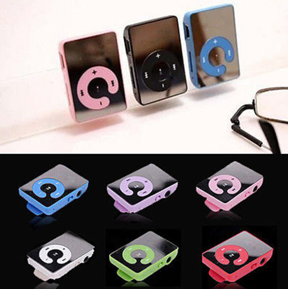Mp3 Music Player TF card / Mirror Clip music player / mini clip mp3 player