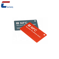 Optional memory NFC contactless smart nfc membership card nfc student cards,8kb nfc card,NTAG 215 nfc mini tag card