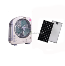 High quality eco-friendly 6v dc ceiling rechargeable solar powered outdoor fans