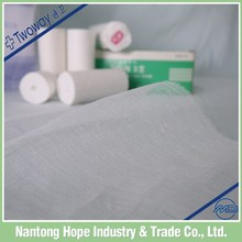 The cotton gauze bandage soft and confortable for health body