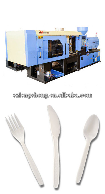 cutlery plastic injection moulding machine