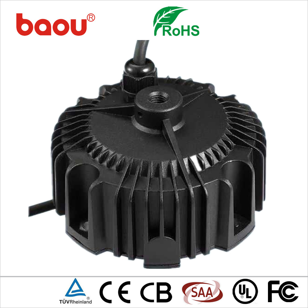 Baou High quality 24v round shape led driver LED constat current