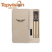 Low cost high quality herbal vaporizer dry herb rose gold oil vape pen