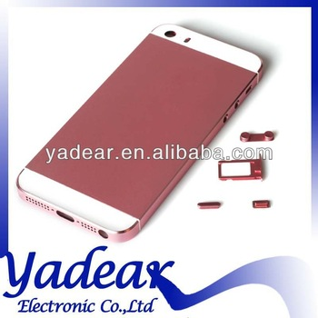 China alibaba wholesale for apple iphone 5 5s back covers