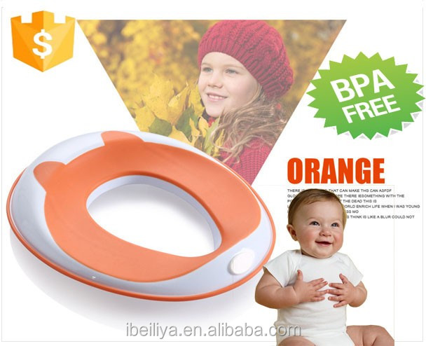 Plastic Potty Seat Kids Toilet Training Ring for Boys or Girls