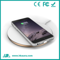 Modern Style 5W 100ma Black Mobile Phone Wireless Charger Case For iphone6