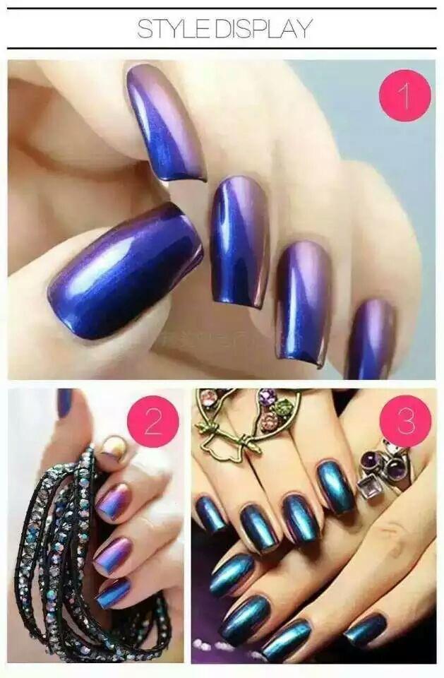 2016 le plus populaire livraison pigment chantillons for Vernis a ongle effet miroir