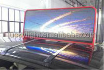 china video dot matrix led panel/ new images p6 outdoor colorful hd hot xxx videos led display screen/ taxi top led display