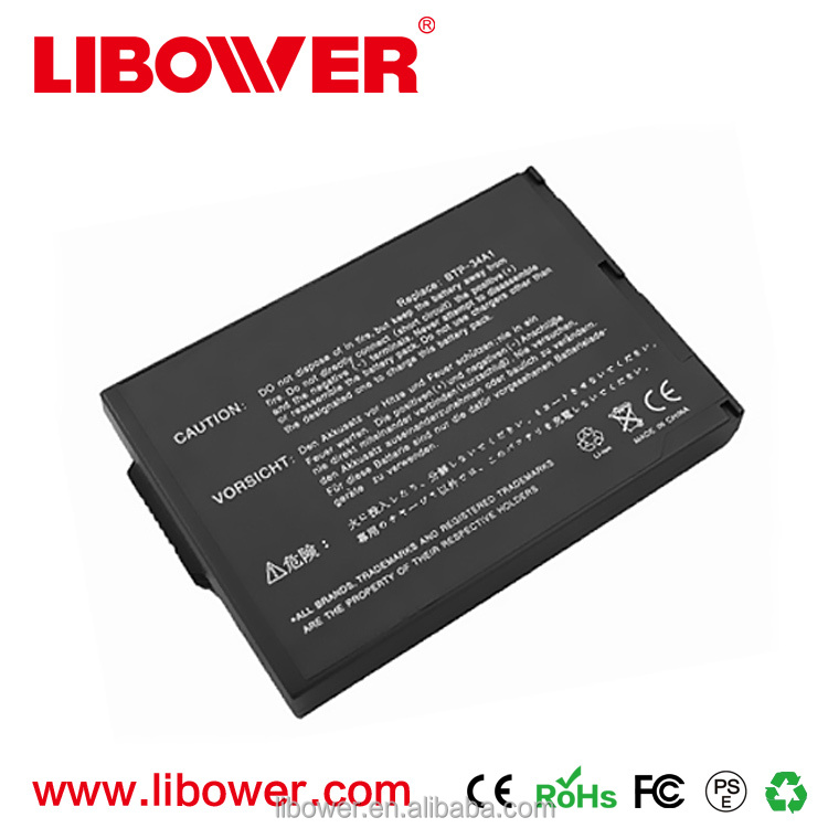 High quality 100% OEM Compatible 8cells laptop battery for ACER 34A1 14.8V 4400mAh