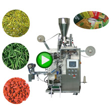Box Packaging Fully Automatic Nylon Bag Pouch Powder Sachet Tea Stick Packing Machine In China India