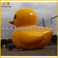 PVC Giant Inflatable Promotional Duck, Rubber Inflatable Animal For Sale