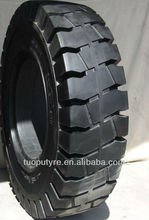 China made good forklift solid tyre 14.00-24 big loader tire
