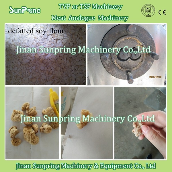 Defatted Soya Flour For Soy Nuggets Protein Making Machine