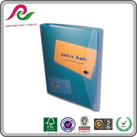 Organiser Style plastic box file 3 Ring Binders A4