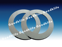 Tungsten carbide rotary cutter blade for cutting metal steel