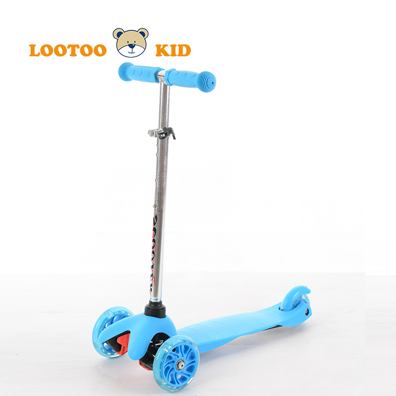 Alibaba trade assurance china factory adjustable height children kick scooter 3 wheel trike