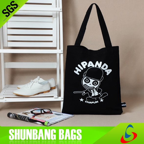 wholesales cheap recycled custom promotion blank standard 100% cotton shopping tote cotton bag
