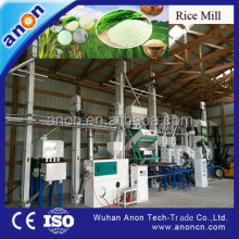 Anon diesel engine rice milling machine