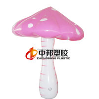 Attractive inflatable mashroom model for kids toy