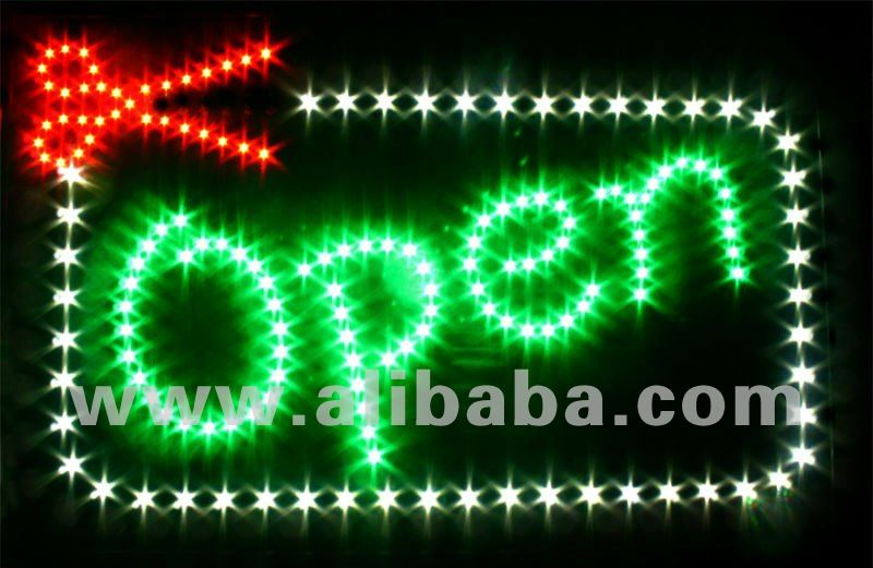 LED sign salon