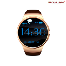 Bluetooth watch sleep monitor health partner health smart watch phone with heart rate handsfree bluetooth connect with ios phone