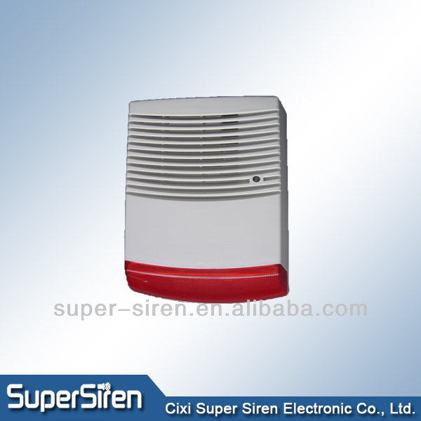 armored strobe alarm siren outdoor flash alarm siren