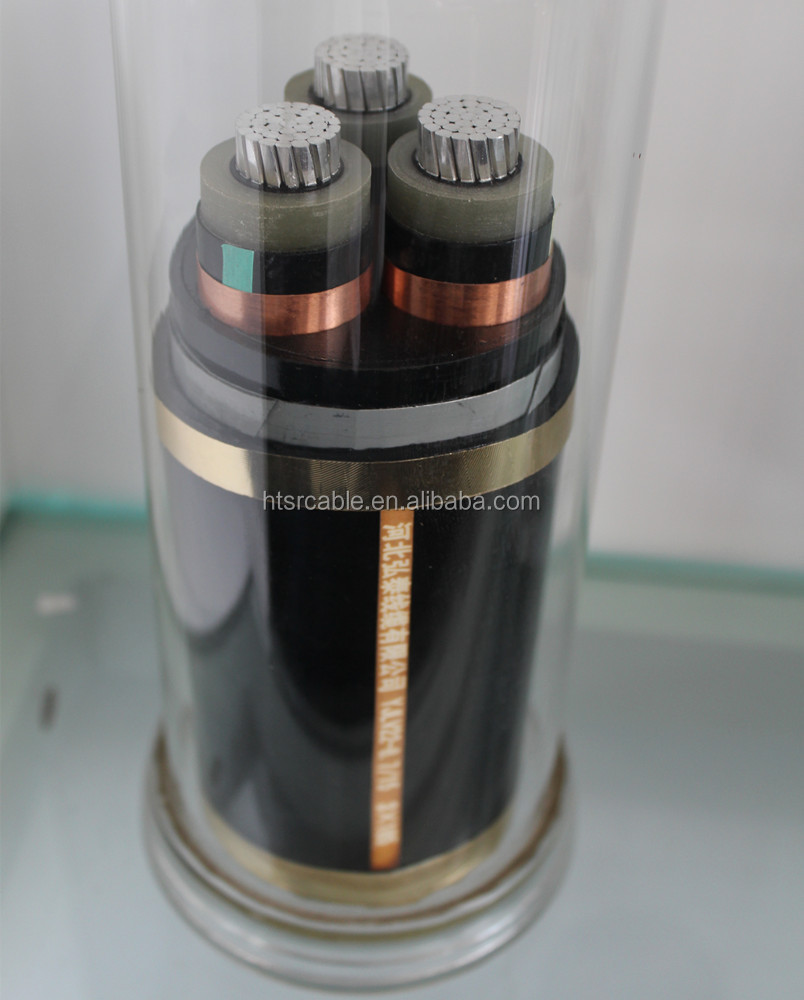 XLPE insulated 12 core buried YJV electrical cable