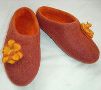 Hand crafted wool felt Shoes