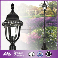 Wentai portable decorative garden outdoor standing light pole