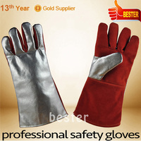 New product latest heat resistant cooking gloves silicone
