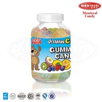 Gelatin sweet gummy bear vitamins