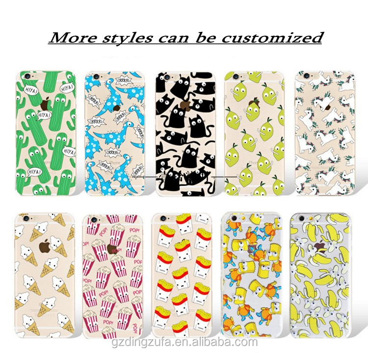 free sample printing Cute Cartoon 3D eyes TPU+PC phone case for samsung galaxy s6 edge