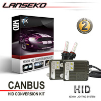 Two years warranty AC 55w auto parts 6000k slim CREEs hid xenon kit for universal cars