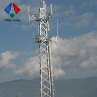High Quality Customized steel radio/communications tower