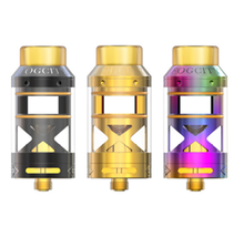 3ml Fogcity atomizer Gemz Fogcity RTA vs vandyvape valyrian tank vs Uwell crown 3 mini tank