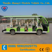 14 passenger Electric Power Electric Shuttle Bus with low price
