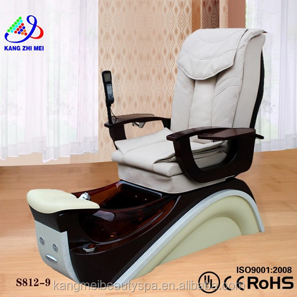New spa chairs/foot spa massage chair/spa joy pedicure chair parts KM-S812